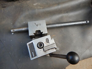 Vector Force Quick Change Tool Post Turret W Boring Bar For Metal Lathe