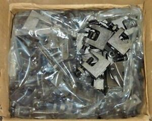 Box Of 100 Pentair 3 8 Universal Beam Clamps Adjustable Clips Hangers 3000037pl