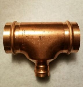 Nibco 3 X 3 X 1 1 4 Copper Press Tee New