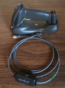 Motorola Symbol Ds6878 Scanner With Stb4278 Base And Usb Cable