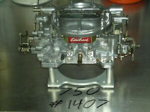 Edelbrock Performer Carburetor 750 Cfm Carb 1407