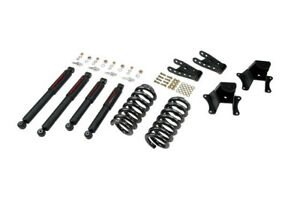 Belltech 73 87 Chevy C10 2 4 Drop Lowering Kit W Nd2 Shocks 703nd