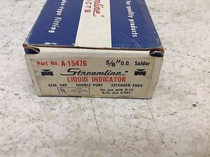 Streamline Mueller A 15476 5 8 Od Liquid Indicator Double Port A15476 New