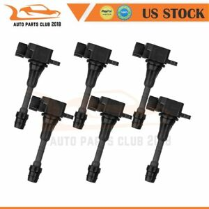 New Pack 6 Ignition Coil For 03 09 Infiniti Fx35 G35 M35 Nissan 350z Uf401 C1439