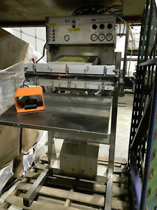Packaging Aids Corp Pneumatic Vacuum Bag Sealer Pvs ga24