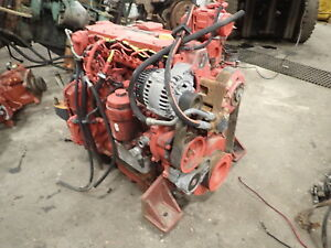 Deutz Bf4m2012 Diesel Engine Low Hours Runs Exc Common Rail Tcd2012 2012