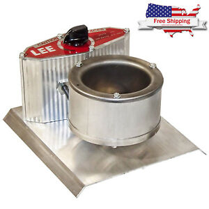 Electric Lead Melting Pot Metal Melter Furnace Casting Molds Spout Small Zink