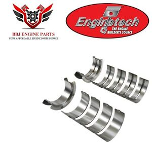 Enginetech Ford 221 255 260 289 302 5 0 Main Bearings 1962 2001
