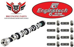 New Enginetech Chevy Sbc 350 5 7 Lt1 Roller Camshaft And Lifters Kit 1995 1997