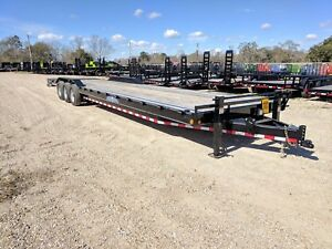 36 Foot X 102 Carhauler equipment Trailer load Trail max Ramps brand New