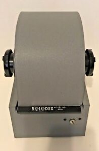 Rolodex 2254 With All Index Tabs And Blank Cards No Key