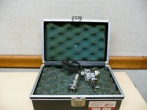 Instron Satec Model T2m Extensometer Tensile Tester Gage Length 64