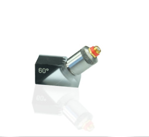 10mhz Ultrasonic Detection Fingertip Probe With Angle Beam Wedges 1 2 1 4 3 8in