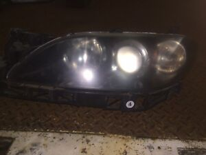 2003 2006 Mazda3 Sedan 4 Door Oem Left Driver Headlight Factory