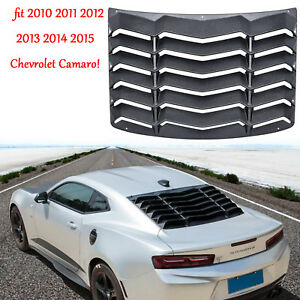 Rear Window Louver Windshield Cover Gt Lambo Style For 2010 2015chevrolet Camaro