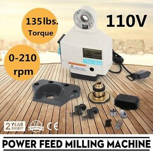 X Axis Power Feed Milling Vertical Milling Bridgeport Other Adjustable Speed