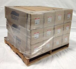 14 X 213 7 Mil Husky Brand Shrink Wrap White Pallet Of 12 Rolls
