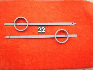 Fender Skirt Emblem22 Rat Hot Rod Truck Chev Plymouth Merc Ford Dodge Cad