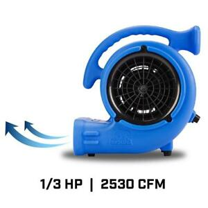 B air 1 3 Hp Air Mover Blower Fan For Water Damage Restoration Carpet Dryer Jani