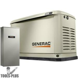 Generac 7032 11 10kw Guardian Standby Generator W Automatic Transfer Switch New