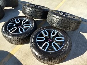 20 Gmc Sierra At4 Z71 Chevy Silverado 2019 Oem Wheels Rims Tires 2018 New 6x139