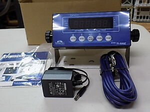 Ome Ti 500e Transcell Weigh Scale Indicator New Ntep Surgecube