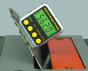 Digital Angle Gauge Magnetize Leveling Alignment Large Display Accurate Reading