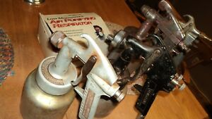 Lot Of 4 Vintage Spray Guns Craftsman Thomas Ind Cambell Hausfeld Free Ship