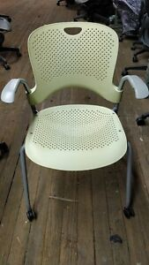 Herman Miller Perfect Green Caper Multipurpose Chairs Retail 700 Each