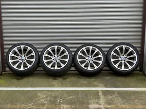 19 Oem Bmw M5 E60 Wheels W Tires 5x120 Rims 166 Staggered Factory Genuine Set