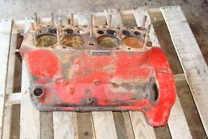 Ford 9n Tractor Engine Block 2n