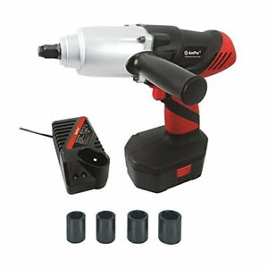 New Ampro 24 Volt Cordless 1 2 Dr Impact Wrench With Battery T80253