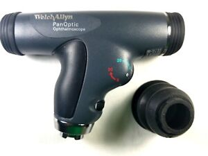 Welch Allyn 3 5v Panoptic Ophthalmoscope With Cobalt Blue Filter 11820