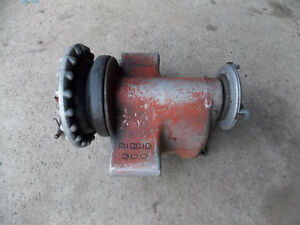 Housing Front Rear Chuck For A Ridgid 300 Electric Pipe Threader