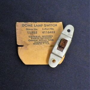 B Nos 1941 Chevrolet Special Deluxe Dome Light Switch Rare Gm 4116462