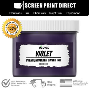 Ecotex Violet Water Based Ready To Use Discharge Ink Quart 32oz