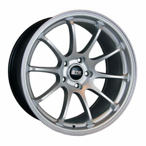 18x9 5x120 Str 901 Hyper Silver Flow Forge Made For Bmw Camaro Lexus Honda