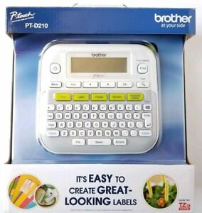 Brand New Brother Ptd210 P touch Easy Compact Label Maker Free Shipping
