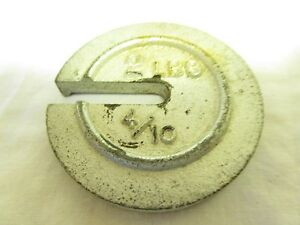 Vintage Embossed Cast Iron Platform Scale Weight 2 Lb 4 10 Industrial Decor