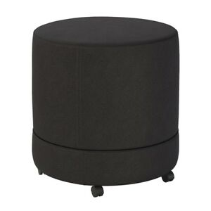 Bush Business Thrive Mobile Pod Seat In Black Fabric