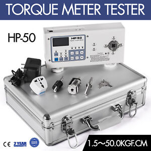 1pcs New High Quality Digital Hios Hp 50 Torque Meter Tester