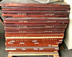 3 wood Expanding 42 X 42 Commercial Restaurant Table Tops Square round