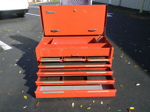 1965 1971 Snap On Tool Box Chest Kra 61b 7 Drawers Nice Local Pickup Orlando