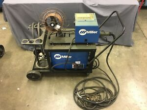 Mig Welder Miller Xmt 350 Mpa With 24a Wire Feed