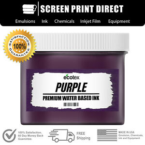 Ecotex Purple Water Based Ready To Use Discharge Ink Quart 32oz