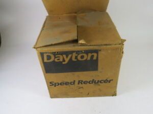 Dayton 4z719a Speed Reducer 12 5 1 Ratio 427in lb 1hp 1725rpm Used