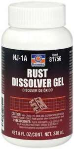 Permatex Rust Remover Rust Dissolver Gel 8 Oz Bottle Each