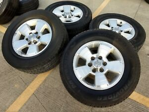 17 Toyota Tacoma Oem Wheels Rims Tires Oe 2013 2014 2015 2016 4runner Fj 69463