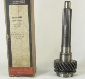 1958 59 Ford Transmission Main Drive 8 Cyc 292 Cubic Inch W o Overdrive Nos
