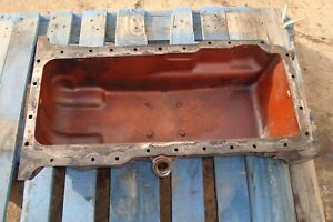 1972 Massey Ferguson 1130 Tractor Engine Oil Pan 1100 1105 1135